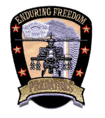 ARMY Operation Enduring Freedom Military Patch PREDATORS APACHE
