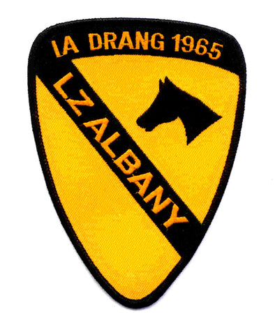 ARMY 1st CAVALRY DIVISION MILITARY PATCH IA DRANG 1965 LZ ALBANY AIRCAV VIETNAM