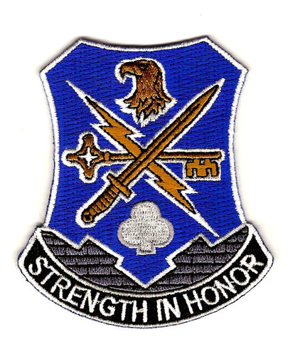 ARMY 1st Brigade 101st Infantry Division Special Troop Battalion Military Patch STRENGTH IN HONOR STB-34