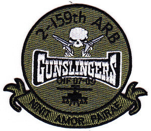 ARMY 2nd Squadron 159th Aviation Attack Reconnaissance Battalion Military Patch NINIT AMOR PAIRAE GUNSLINGERS