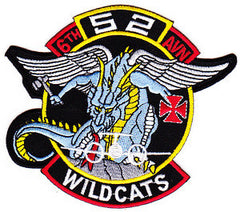 ARMY 6th Battalion 52nd Aviation Regiment Company A Military Patch WILDCATS KOREA