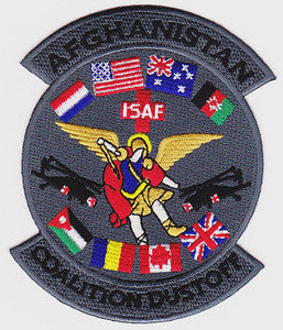 ARMY C Company 3rd Squadron 28th Aviation Battalion Military Patch AFGHANISTAN ISAF COALITION DUSTOFF