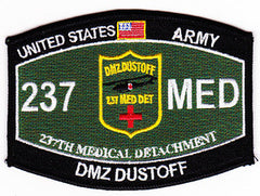 237th Medical Detachment Patch DMZ DUSTOFF