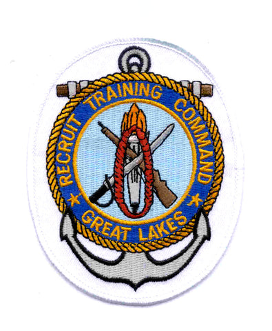 NAVY - Great Lakes, IL - Recruit Training Command Navy Military Patch