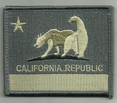 "CALIFORNIA REPUBLIC ""BAD BEARS"" HOOK BACKING PATCH - ACU LIGHT"