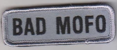 BAD MOFO VELCRO PATCH - ACU DARK
