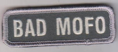 BAD MOFO HOOK & LOOP PATCH - ACU LIGHT