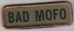 BAD MOFO VELCRO PATCH - FOREST