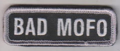 BAD MOFO HOOK & LOOP PATCH - SWAT