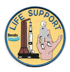 Bendix Life Support Apollo Aerospace Program Collectors Patch