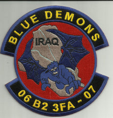 2nd Battalion 3rd Field Artillery Regiment BLUE DEMONS 2006 B2 3FA 2007 OIF IRAQ