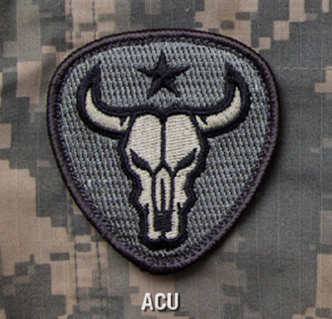 BULL SKULL Hook Backing Patch - ACU