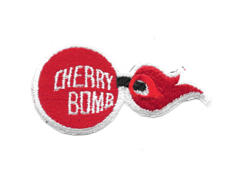 Cherry Bomb Mufflers Vintage Patch
