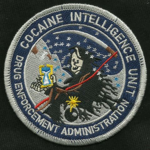 Cocaine Intelligence Unit REAPER Drug Enforcement Administration Patch
