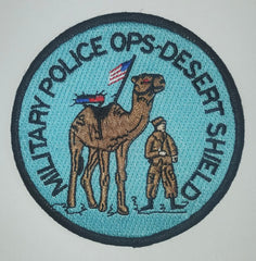 Desert Shield Military Police Ops Patch