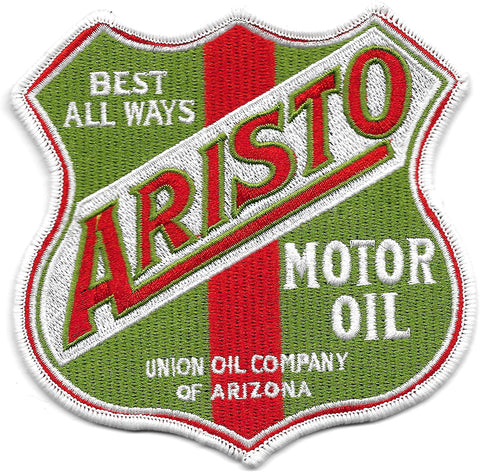 Aristo Motor Oil Vintage Style Patch