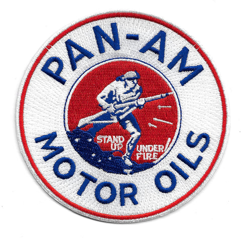 PAN-AM Motor Oil Vintage Style Patch