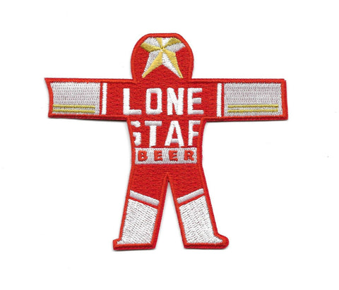LONE STAR BEER CAN MAN True Detective MOVIE PATCH