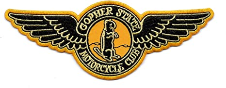 GOPHER STATE MC Vintage Style Motorcycle Biker Patch