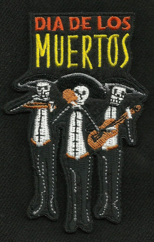 Day of the Dead Mariachis Patch