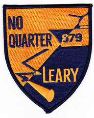 DD-879 USS LEARY GEARING CLASS DESTROYER MILITARY PATCH - NO QUARTER