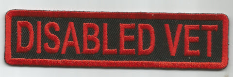 DISABLED VET TAB PATCH