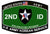 2nd Infantry Division 2nd ID Army Patch - Korean Service