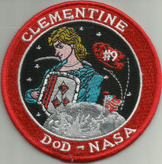 Clementine DOD-NASA Classified Satellite Mission Launch Patch