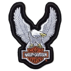 UPWING EAGLE SILVER PATCH - HARLEY DAVIDSON
