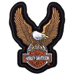 UPWING EAGLE BROWN PATCH - HARLEY DAVIDSON