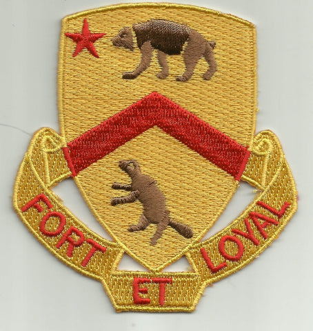 ARMY - 301st CAVALRY REGIMENT MILITARY PATCH - FORT ET LOYAL