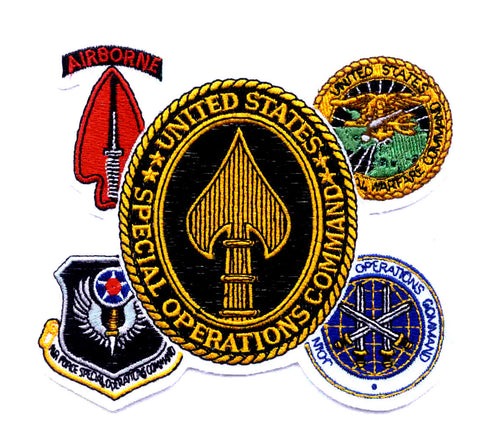 United States ARMED FORCES Special Operations Command GAGGLE Military Patch
