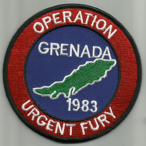 OPERATION URGENT FURY GRENADA 1983 MILITARY PATCH