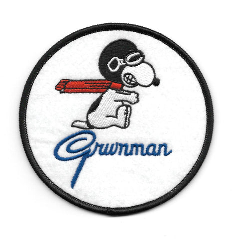 GRUMMAN Collectors Patch - SNOOPY