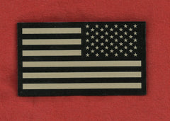 AMERICAN FLAG IR COVERT VELCRO PATCH - REVERSE TAN