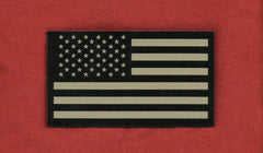 AMERICAN FLAG IR COVERT VELCRO PATCH - FORWARD TAN