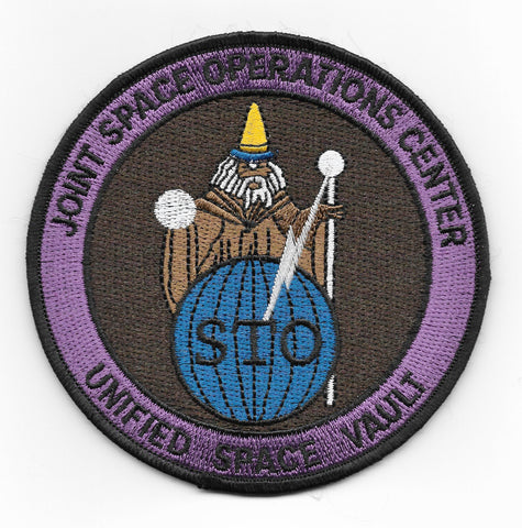 Joint Space Operations Center Unified Space Vault NSA CIA NASA USAF Patch
