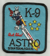 TITAN TEAM K-9 ASTRO CAPE CANAVERAL AIR STATION FLORIDA NASA MILITARY PATCH