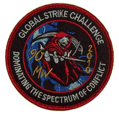 GLOBAL STRIKE CHALLENGE DOMINATING THE SPECTRUM OF CONFLICT USAF VELCRO MILITARY PATCH