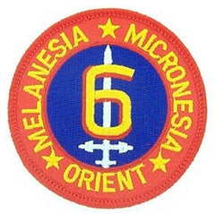 6th MARINE DIVISION MILITARY PATCH
