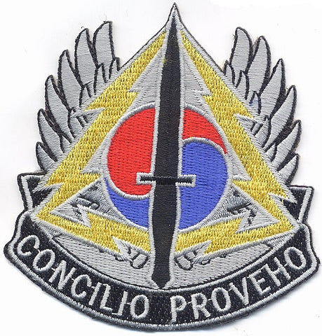 ARMY Airborne Special Operations Command Korean Theater Operation Military Patch CONCILIO PROVEHO