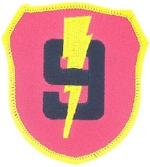 9th MARINE REGIMENT MILITARY PATCH