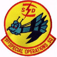 AFSOC USAF 1st SOS Special Ops AC-130 Gunship PATCH