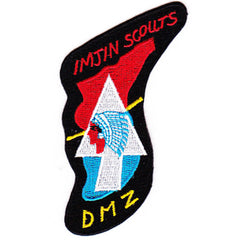 Korea Imjin Scouts Patch DMZ Black Border - Color