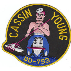 DD-793 USS Cassin Young Patch
