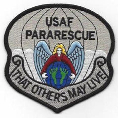 "PARARESCUE JUMPER ""THAT OTHERS MAY LIVE"" MILITARY PATCH"