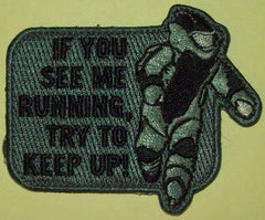 EOD RUNNING VELCRO PATCH - ACU