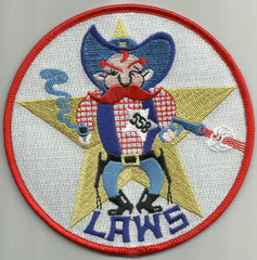 DD-558 USS LAWS Fletcher Class Destroyer Military Patch