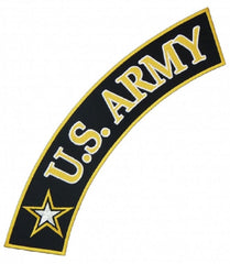 LARGE US ARMY TOP ROCKER