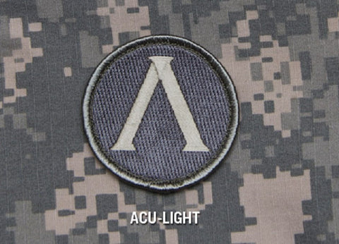 LAMBADA SHIELD TACTICAL COMBAT BADGE ISAF MILITARY MORALE PATCH - ACU LIGHT